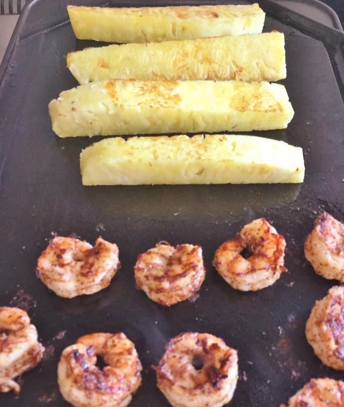 Grilled Shrimp & Pineapple Wrap – Recipe! Image 4