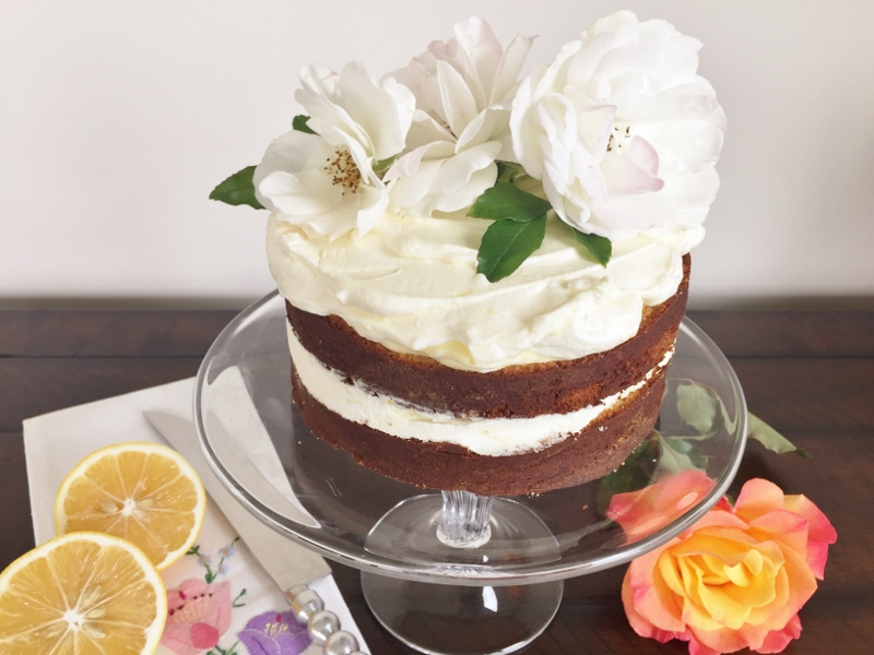 Lemon Elderflower Cake with Lemon Curd Cream – Recipe! Image 2