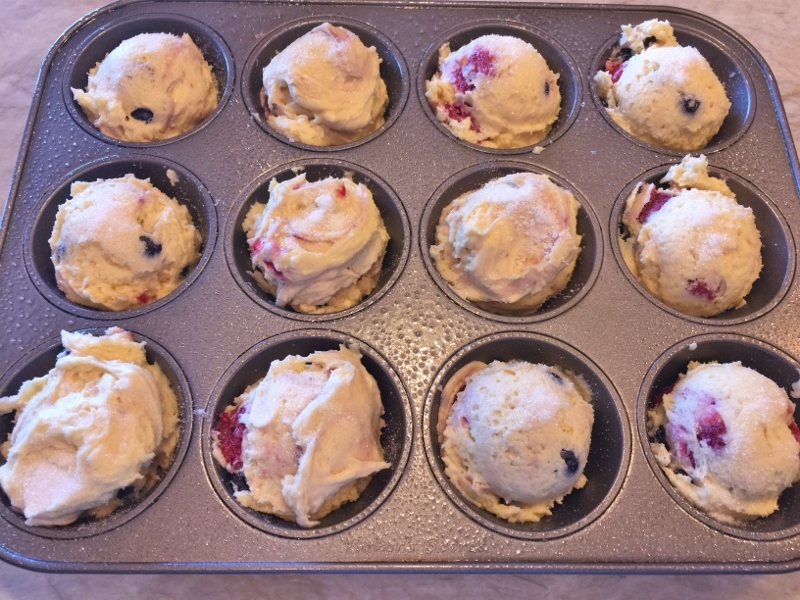 Mixed Berry Muffins – Recipe! Image 4