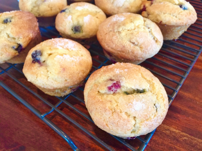 Mixed Berry Muffins – Recipe! Image 2