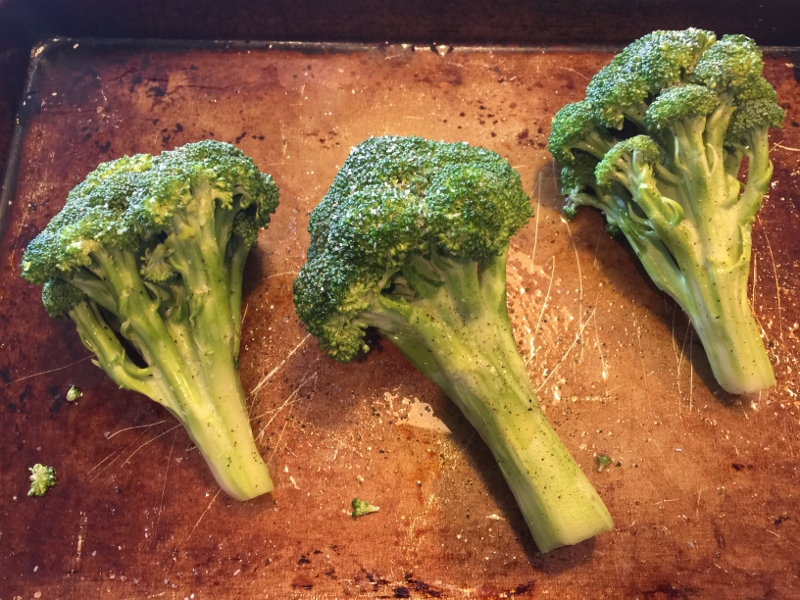 Roasted Crowns of Broccoli with Preserved Lemon Yogurt – Recipe! Image 4