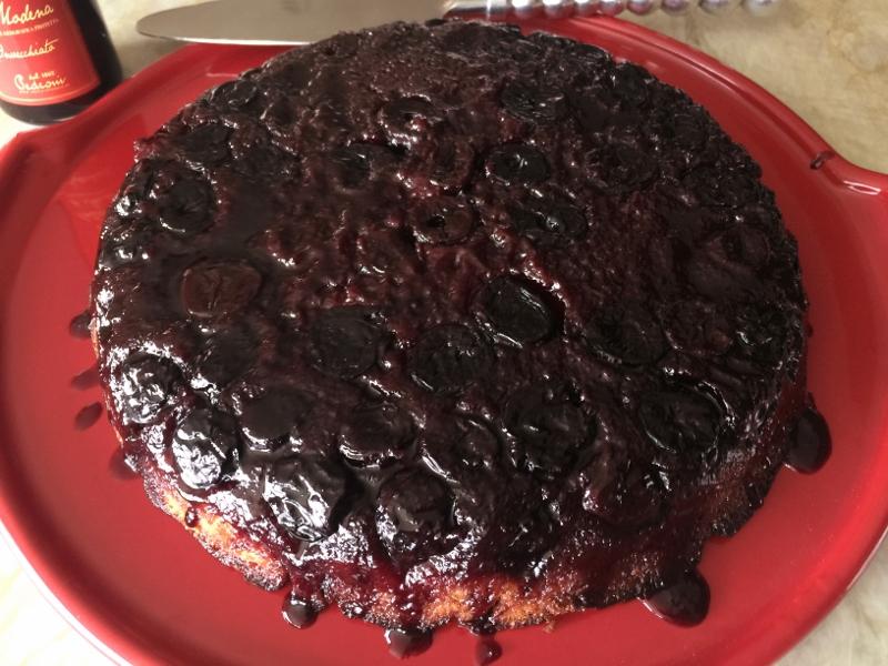 Upside-Down Cherry Balsamic Cake – Recipe! Image 2