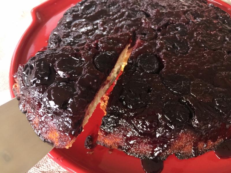 Upside-Down Cherry Balsamic Cake – Recipe! Image 1