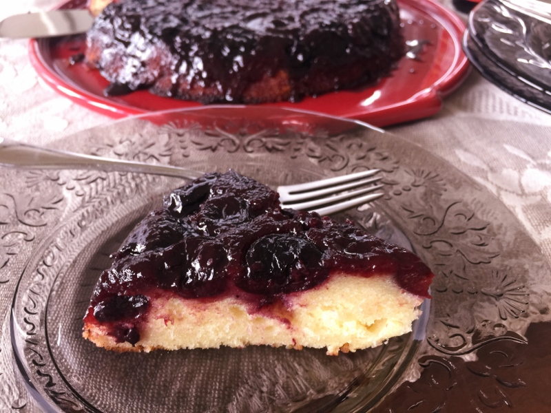 Upside-Down Cherry Balsamic Cake – Recipe! Image 3