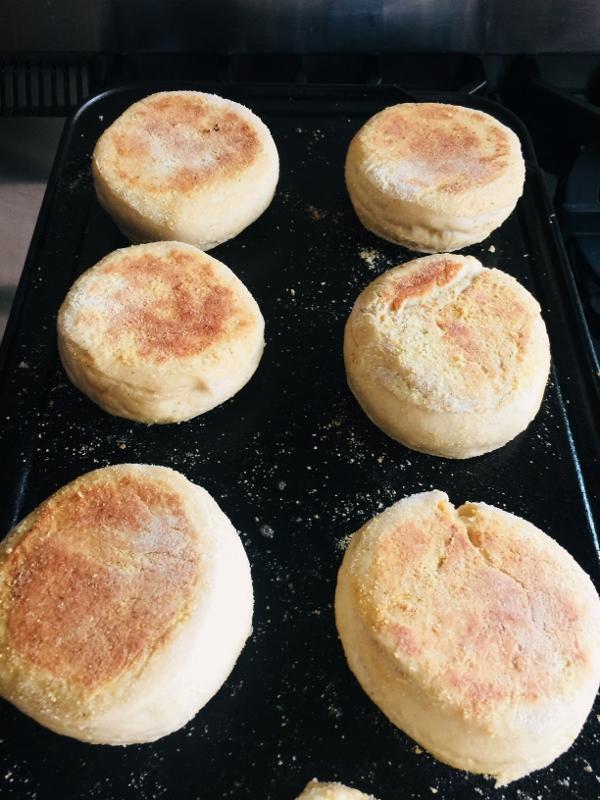 Whole-Grain Sourdough English Muffins – Recipe! Image 12