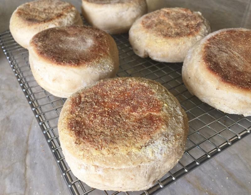 Whole-Grain Sourdough English Muffins – Recipe! Image 1