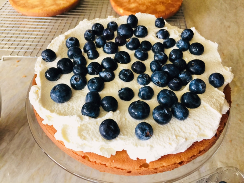 Blueberry Shortcake with Mascarpone Cream – Recipe! Image 8