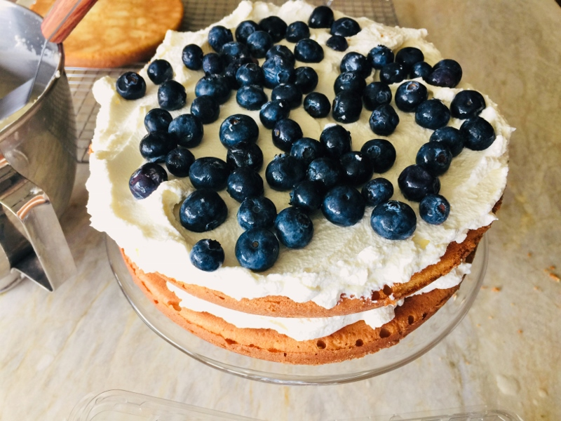 Blueberry Shortcake with Mascarpone Cream – Recipe! Image 9