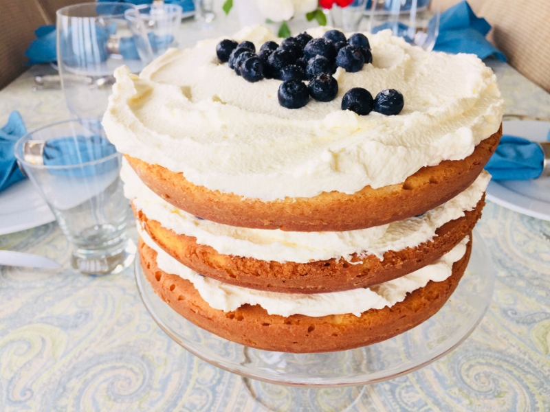 Blueberry Shortcake with Mascarpone Cream – Recipe! Image 2