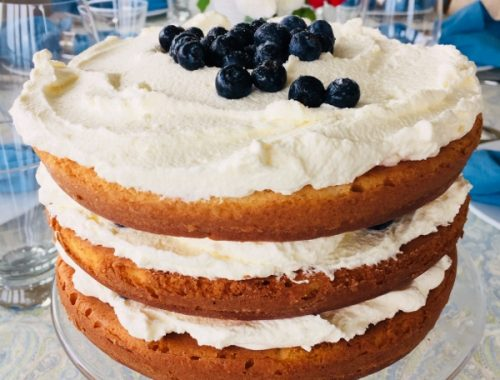 Blueberry Shortcake with Mascarpone Cream – Recipe!
