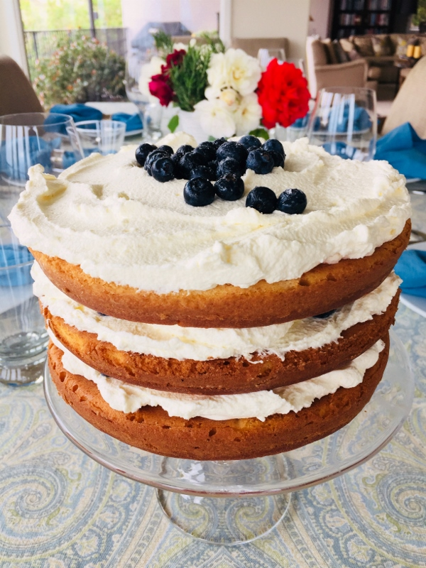 Blueberry Shortcake with Mascarpone Cream – Recipe! Image 1