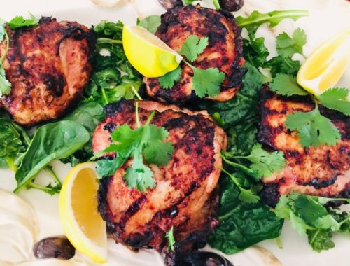 Grilled Thai Chicken Thighs – Recipe!