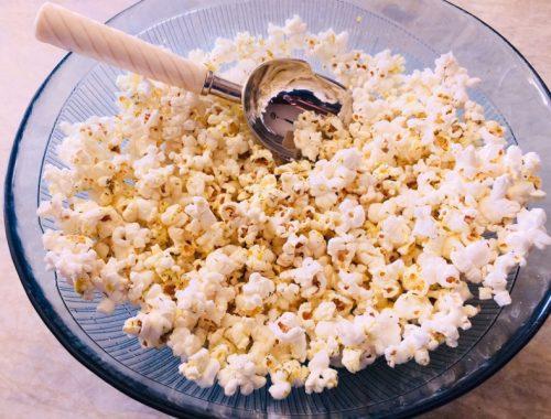 Herby Olive Oil Popcorn – Recipe!