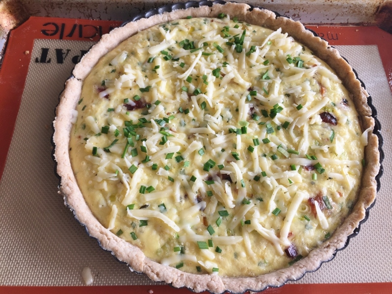 Bacon & Leek Quiche Tart – Recipe! Image 11