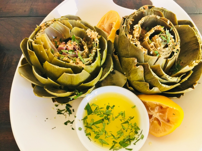Instant Pot Steamed Artichokes with Crispy Breadcrumbs – Recipe! Image 2