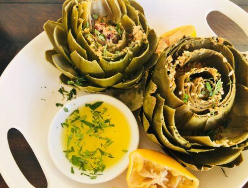 Instant Pot Steamed Artichokes with Crispy Breadcrumbs – Recipe!