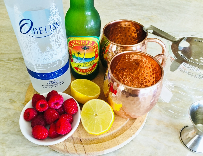 Raspberry Moscow Mules – Recipe! Image 4