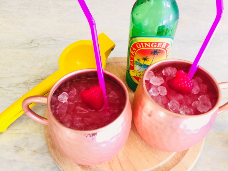 Raspberry Moscow Mules – Recipe! Image 2