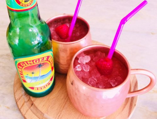 Raspberry Moscow Mules – Recipe!