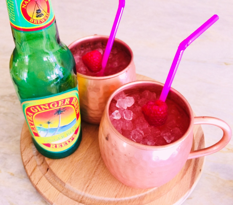 Raspberry Moscow Mules – Recipe! Image 1