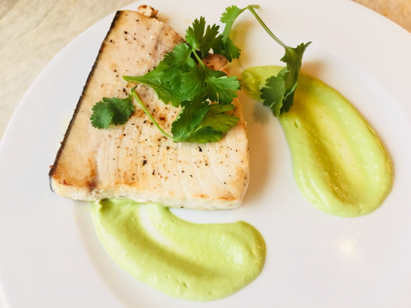 Swordfish with Tangy Avocado Sauce – Recipe! Image 2