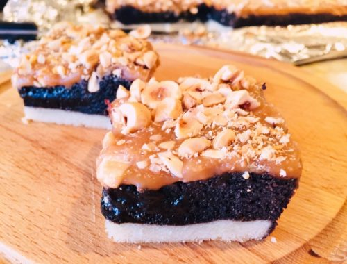 Turtle Brownie Bars – Recipe!