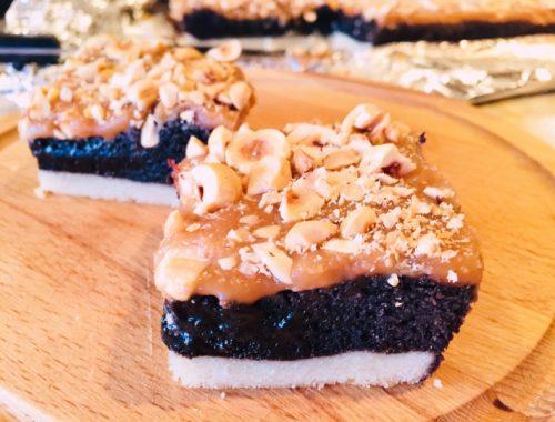 Turtle Brownie Bars – Recipe!