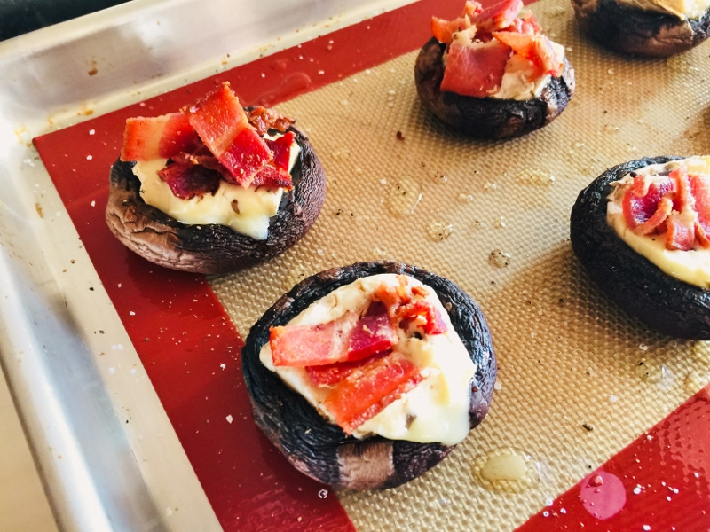 Brie & Bacon Stuffed Mushrooms – Recipe! Image 5