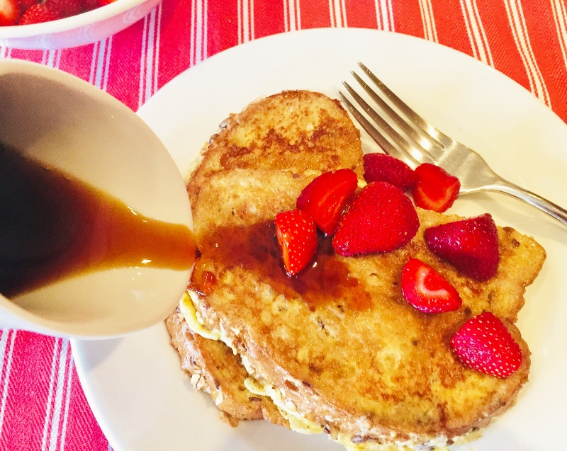 Bruleed French Toast with Strawberries – Recipe! Image 2