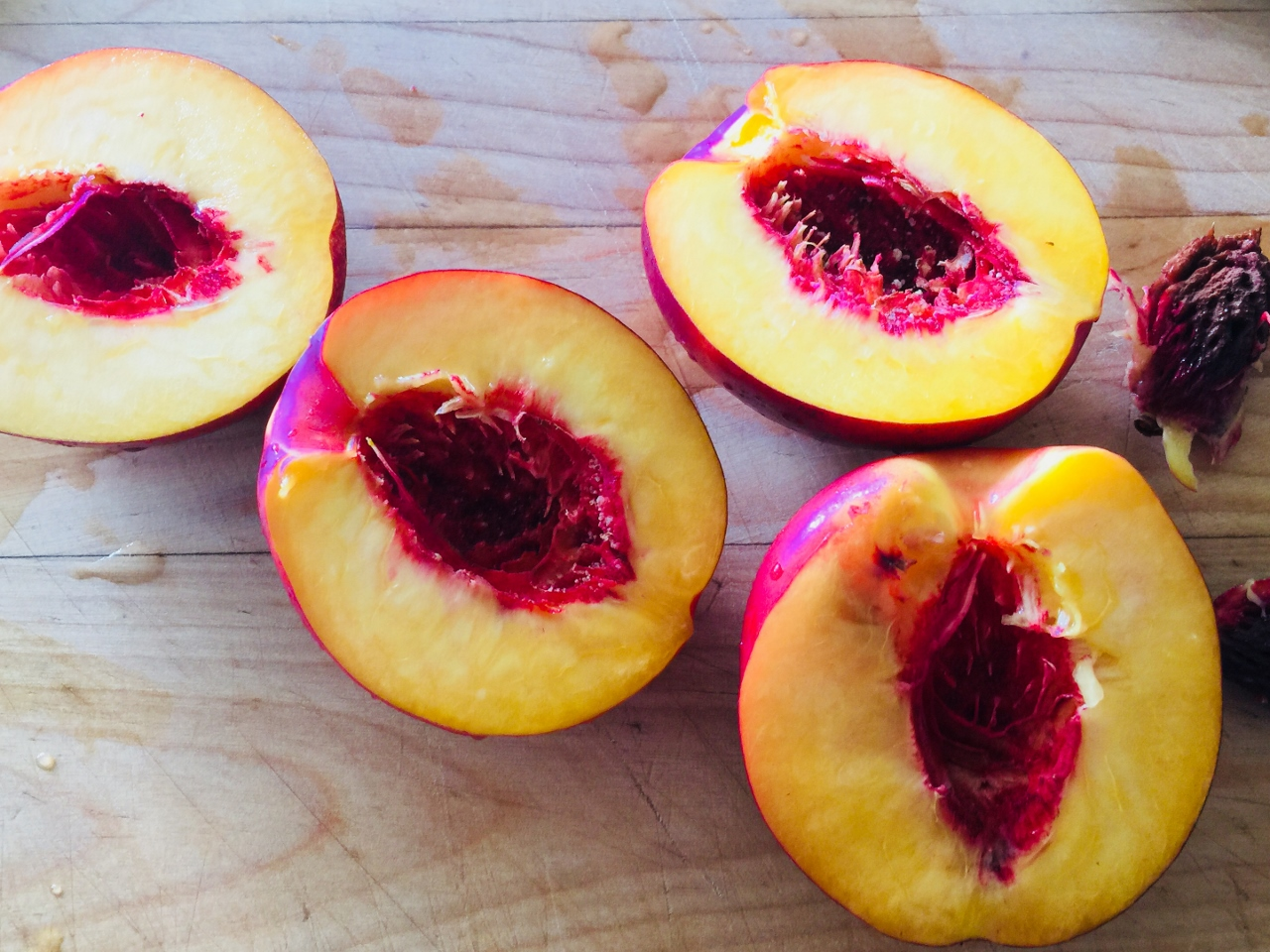 Drunken Nectarines – Recipes! Image 2