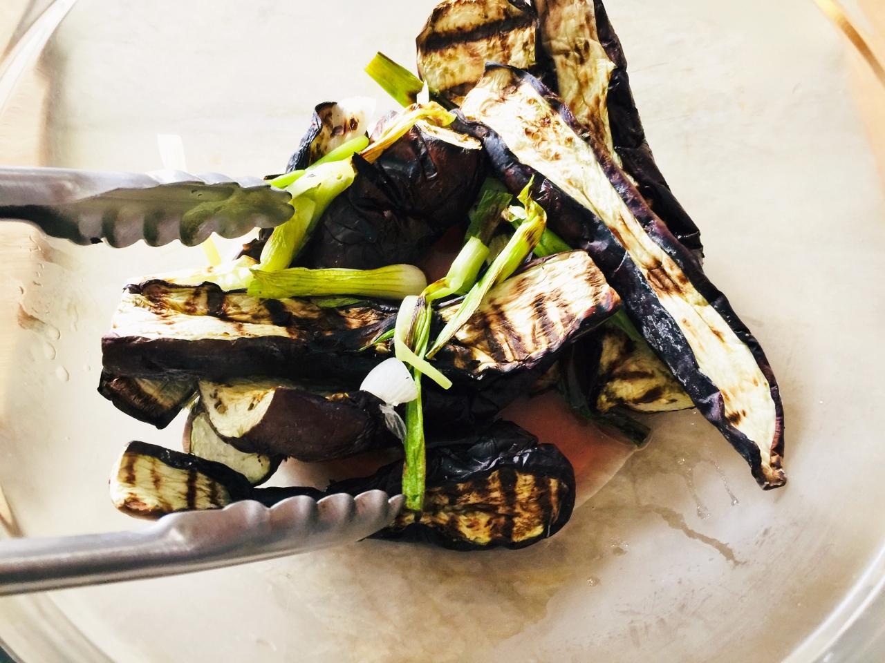 Grilled Eggplant Salad – Recipe! Image 3