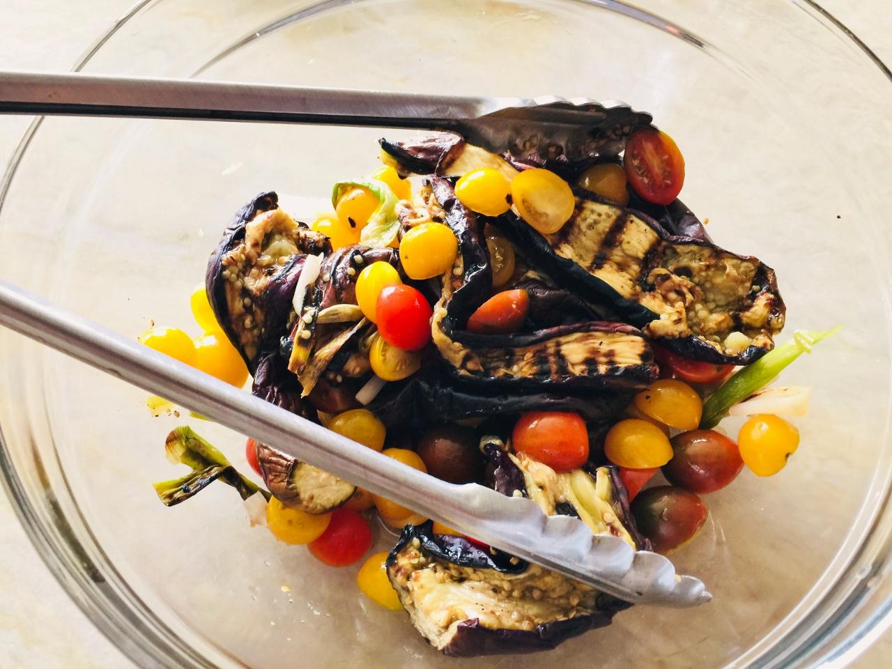 Grilled Eggplant Salad – Recipe! Image 4