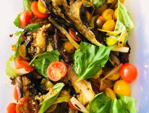 Grilled Eggplant Salad – Recipe!