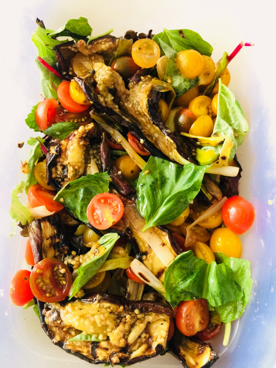 Grilled Eggplant Salad – Recipe! Image 1