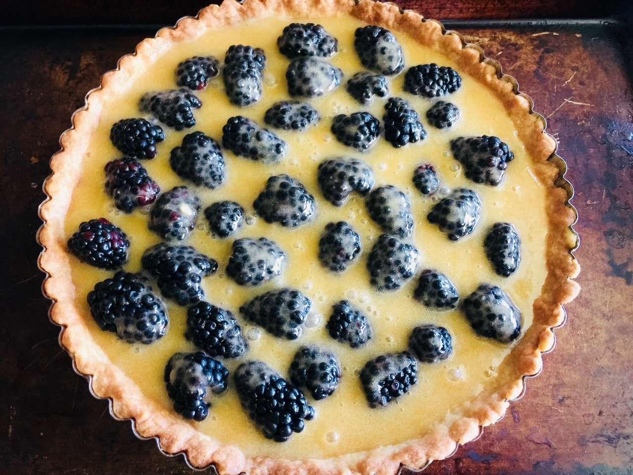 Brown Butter Blackberry Tart – Recipe! Image 5