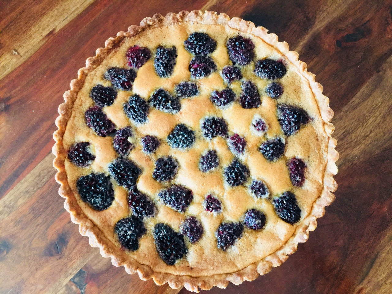 Brown Butter Blackberry Tart – Recipe! Image 3