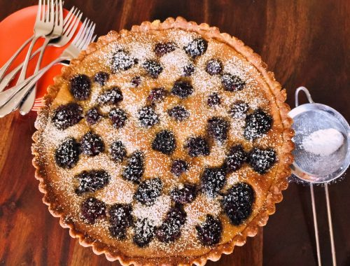 Brown Butter Blackberry Tart – Recipe!