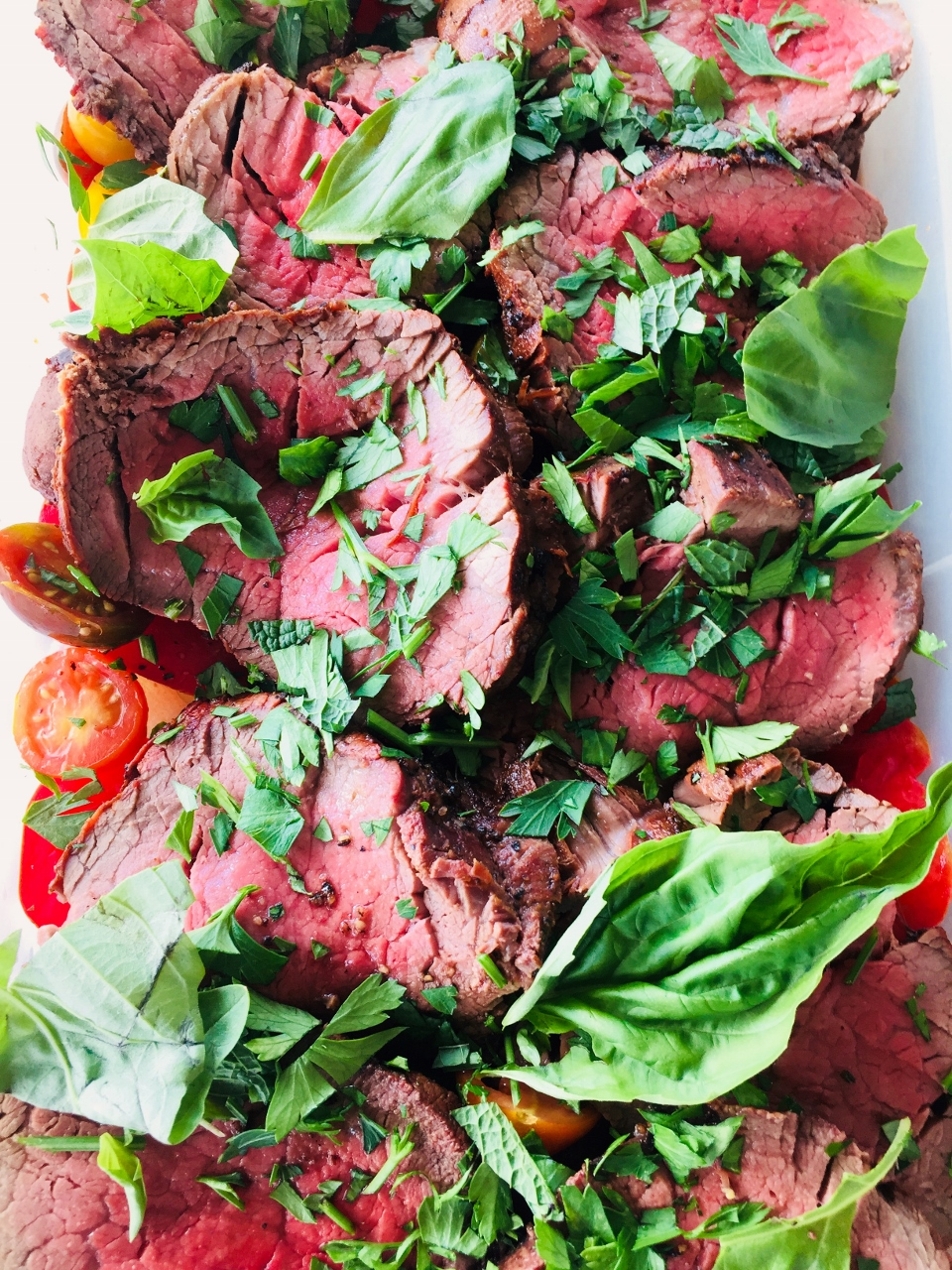 Grilled Beef Tenderloin with Tomatoes – Recipe! Image 1