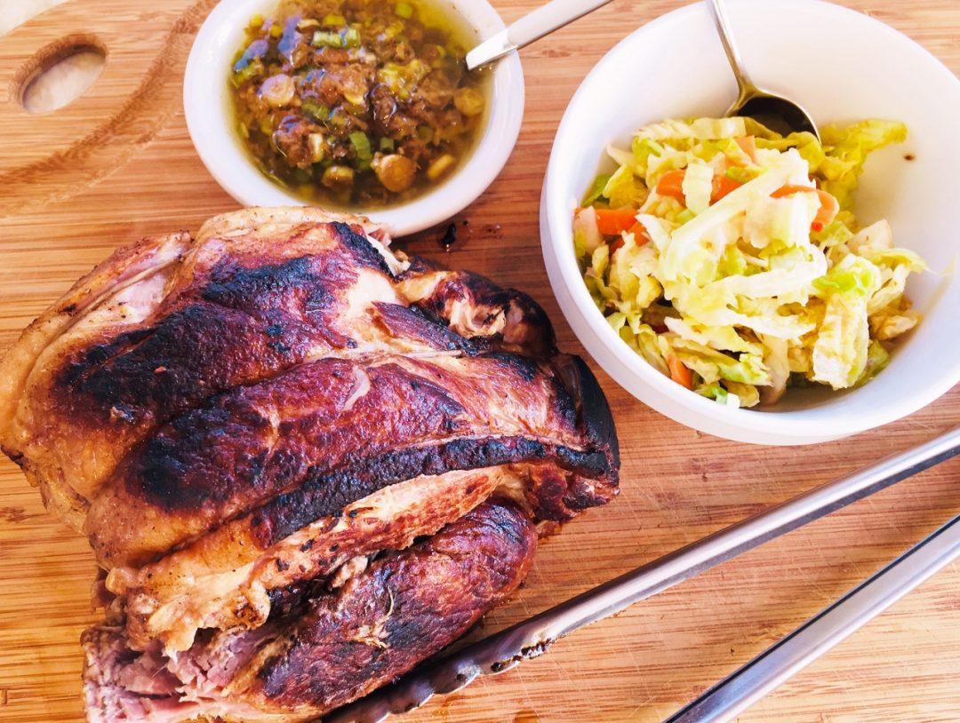 Instant Pot Korean Pork Shoulder with Scallion Sauce – Recipe! Image 1