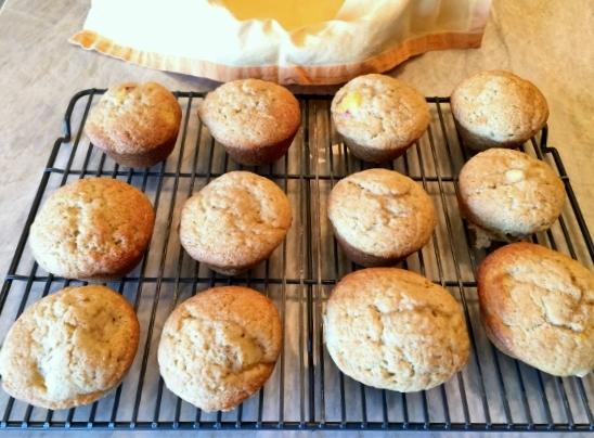 Peach Buttermilk Muffins – Recipe! Image 4