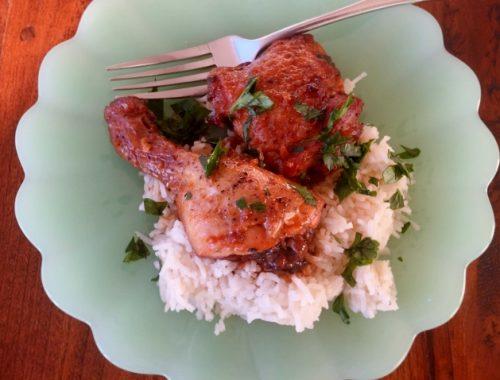 Slow-Cooker Ginger Chicken – Recipe!