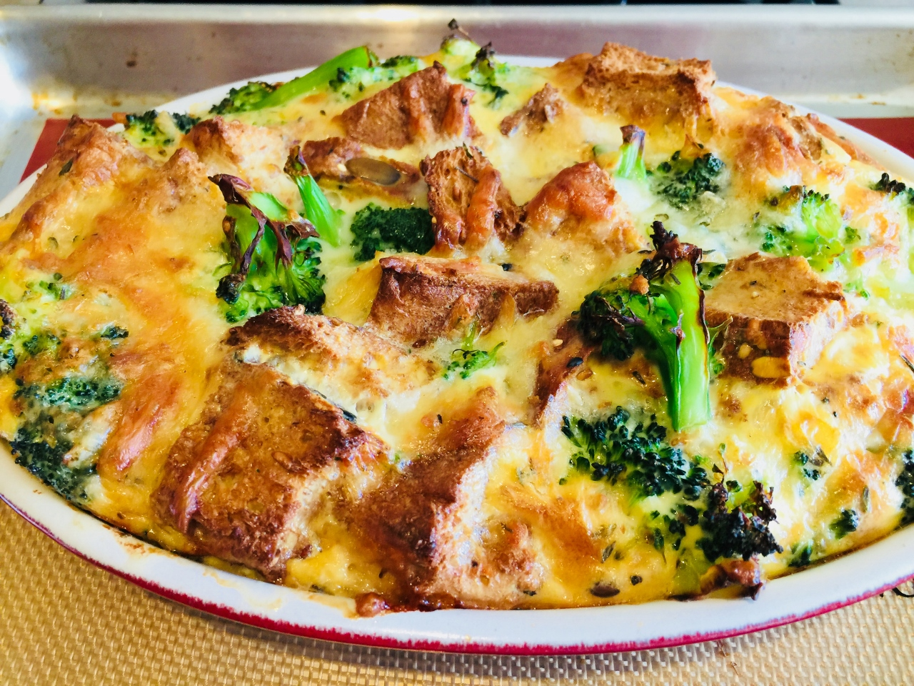 Broccoli Cheese Strata – Recipe! Image 2
