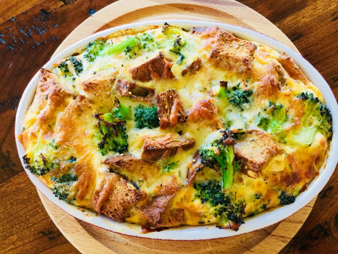Broccoli Cheese Strata – Recipe! Image 1
