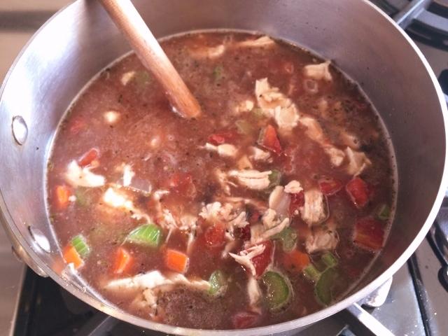 Chicken Vegetable Tortilla Soup – Recipe! Image 2