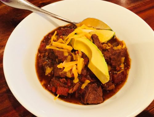 Instant Pot Chili con Carne – Recipe!