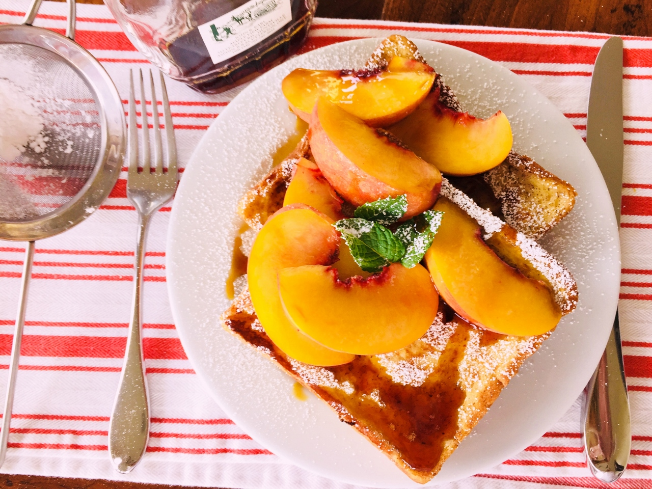 Peach French Toast – Recipe! Image 2