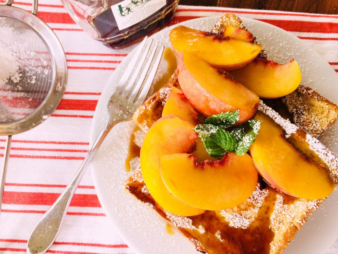 Peach French Toast – Recipe! Image 1