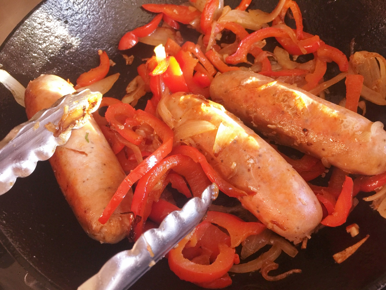 Turkey Sausage & Peppers Salad – Recipe! Image 2