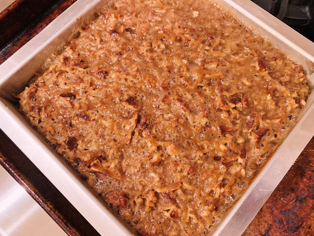 Caramel-Oatmeal Pecan Coffee Cake – Recipe! Image 5