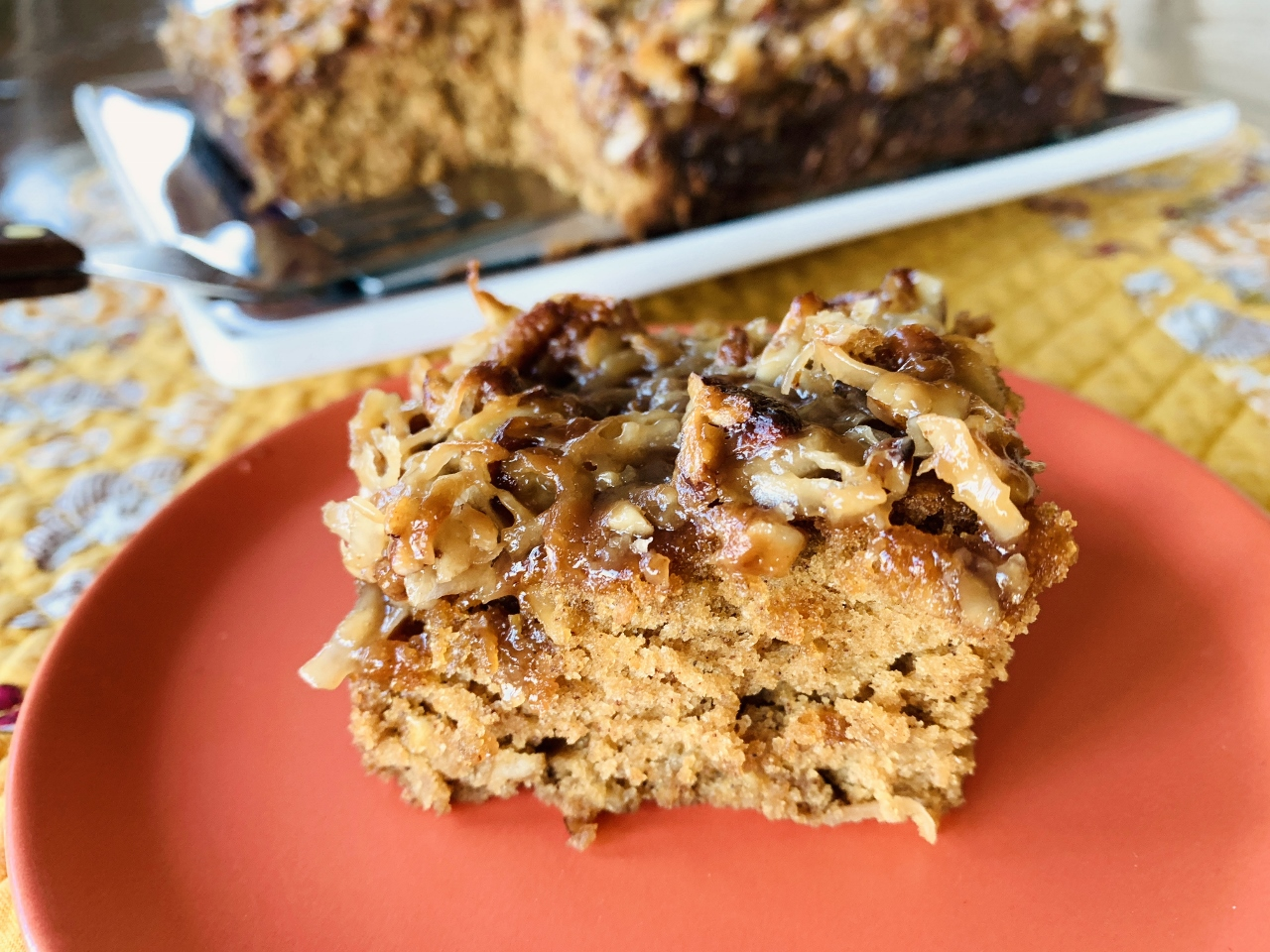 Caramel-Oatmeal Pecan Coffee Cake – Recipe! Image 2
